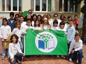 Hellenic Society for the Protection of Nature, awarding the International Programme Eco-Schools.