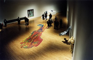View from the exhibition Modern Odysseys. Greek American Artists of the 20thCentury (1999)