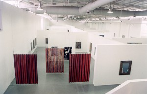 View from Pavlos' retrospective exhibition (1997)