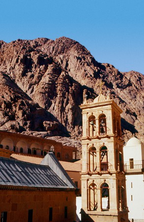 Holy Monastery of Saint Catherine at Mount Sinai.