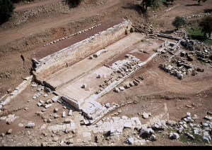 Ancient Messene: The Fountain of Arsinoe during