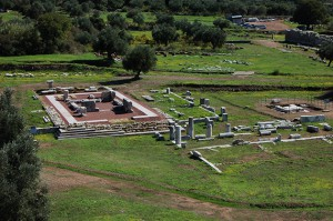 The temple of Messene after restoration